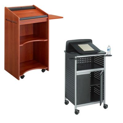 Lecterns, Presentation Carts & Stands