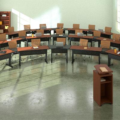 Mayline Tiffany Industries Meeting Plus Tables